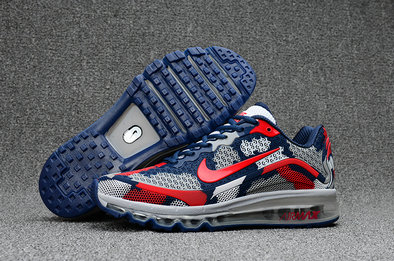 Air Max FREE SHIPPING Cheap Nike AirMax 2017 Mens Red Grey Blue