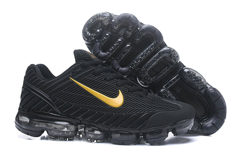 Cheap Nike AirMax 2018 Mens Sneakers Gold Black