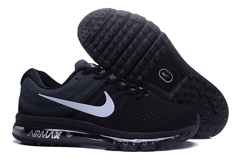 Air Max FREE SHIPPING Cheap Nike Flyknit Air Max 2017 Grey Black