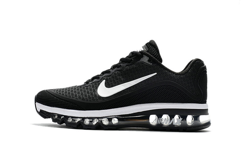 Air Max FREE SHIPPING Cheap Nike Mens Air Max 2017 Black White