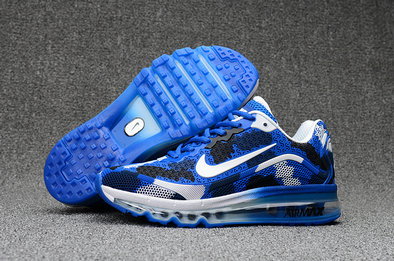 Air Max FREE SHIPPING Cheap Nike Mens Air Max 2017 Camouflage Blue White Black