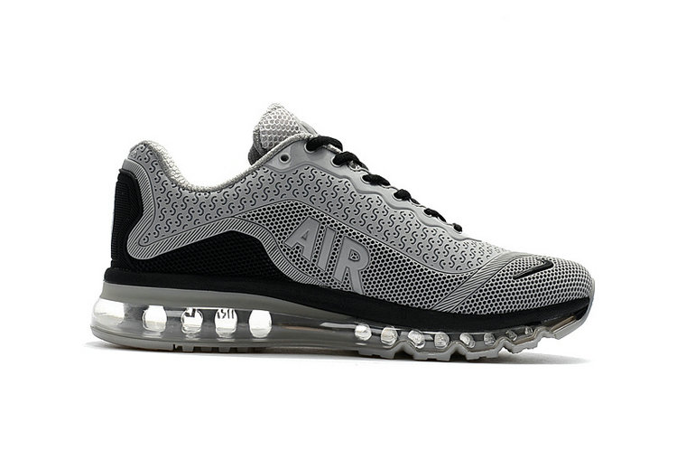 Air Max FREE SHIPPING Cheap Nike Mens Air Max 2017 Grey Black