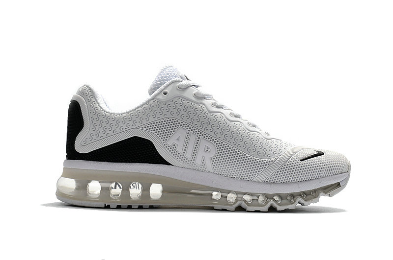 Air Max FREE SHIPPING Cheap Nike Mens Air Max 2017 White Black