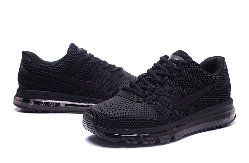 Air Max FREE SHIPPING Cheap Nike Sportwear Air Max 2017 Mens Black