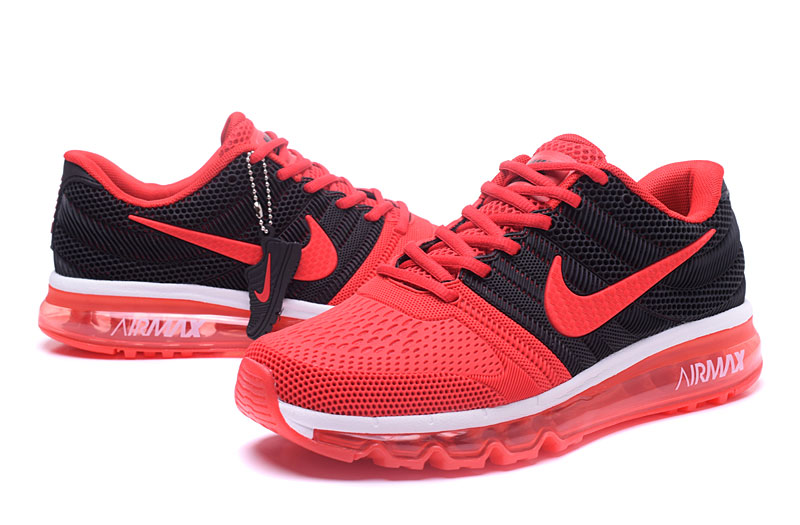 Air Max FREE SHIPPING Cheap Nike Sportwear Air Max 2017 Mens Red Black White