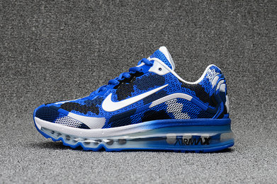 Air Max FREE SHIPPING Cheap Nike WMNS Air Max 2017 CamouFlage Blue White Black