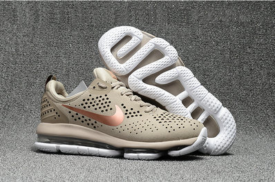 Air Max FREE SHIPPING Cheap NikeLab Air Max 2018 Running Gold Brown White